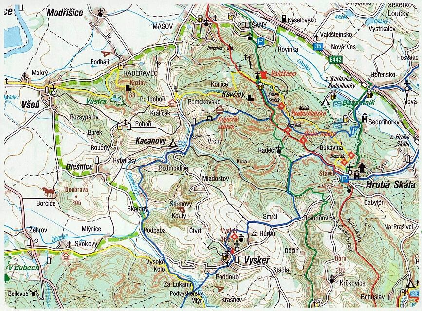 mapa pro web